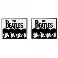 The Beatles Logo & Faces Cufflinks