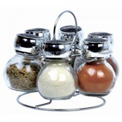Pilot 6 Jar Round Spice Set