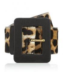 Leopard Print Waist Belt