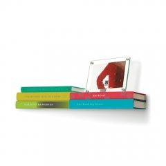 Double Conceal Shelf Floating Book Shelf