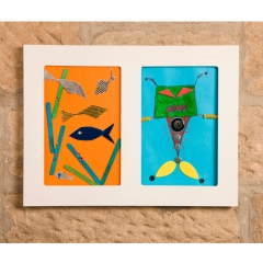 Articulate Childrens Double Artwork Picture Frame