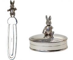 Articulated Bunny Rabbit Bookmark & Pill Box