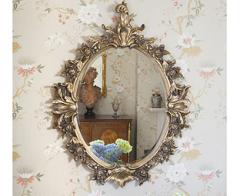 Ornate Antiqued Mirror