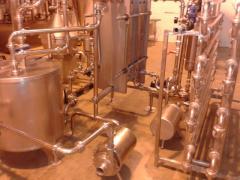 Pasteuriser - Separator complete plant