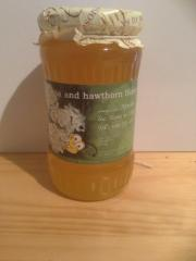 Accacia and hawthorn honey
