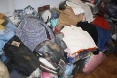 UK second hand clothing