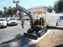 2008 volvo ec25 mini excavator