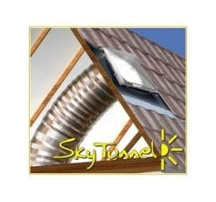 343mm Sky Tunnel, Flat roof flashing with 3m Flexi tube