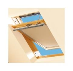 02 size 55x98 THERMAL Pine Finish Centre Pivot Roof Window Keylite