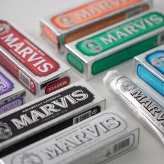 Marvis toothpaste mint flavour