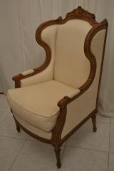 Wood curved arm chair (leisure arm chair 59)