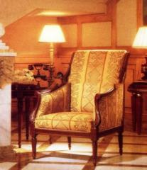 Wooden French leisure chair (Leisure Chair 11)