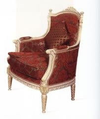 Wooden carved king chair (Leisure Chair 17)
