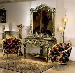 Wooden luxury salon set (Salon set 38)