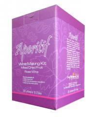 Wine Making Kit Aperitif Rose