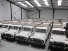 Новый Land Rover Puma 110 пикап-фургон