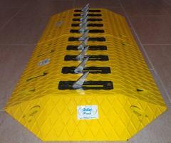 Surface Mount Traffic Spike Barrier System - Tyre Killer - Tire Killer