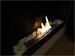 Bioethanol fireplace 650x400 black