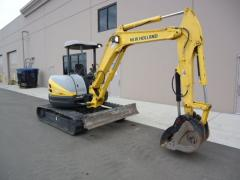 2006 NEW HOLLAND E50SR MINI EXCAVATOR