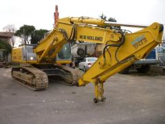 2006 NEW HOLLAND E245 TRACK EXCAVATOR