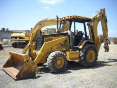 2006 CATERPILLAR 446D 4X4 BACKHOE LOADER