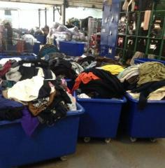 Secondhand clothings