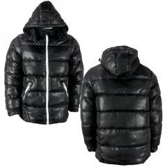 Wholesale Mens Padded Hood Zip Jacket