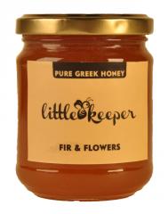 RAW GREEK HONEY FIR & FLOWERS (280 GR NET)