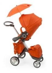 Stokke Xplory Red Standard Single Seat Stroller