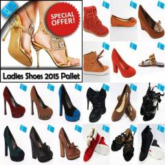 Ladies Shoes Pallet - New Arrivals 2015 - LSP2015