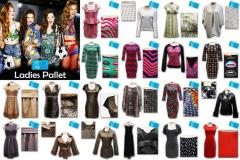 LADIES MIXED CLOTHING PALLET UK EX CHAIN LMP2