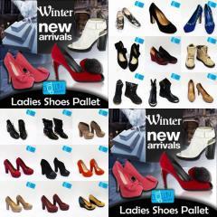 Ladies Shoes Pallet Winter Selection New Arrivals