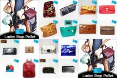 LADIES BAGS PURSES PALLET UK EX CHAIN