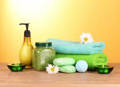 We offer beauty and care products