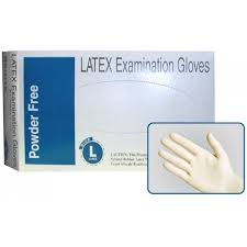 Lightly Powdered Disposable Latex Glove