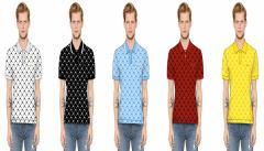 Custom fabric polo