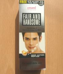Fair and handsome
