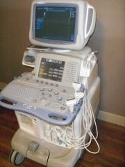 GE Logiq 9 Ultrasound Machine 4 Probes 7L M12 L Linear 3.5C Convex E8C Endovag