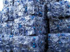 PC Water Bottle Scrap on Bale or Regrind