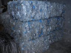 PET Bottle Scrap in Bale