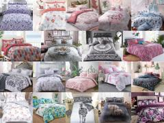 Polycotton Printed Duvet Covers inc. Pillowcases. All Sizes, Designs, Quantities available.