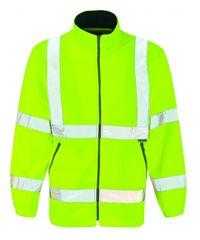 Dickies Hi Visibility Lined Fleece Jacket