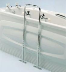 Swedish Bath Grip with Floor Mount