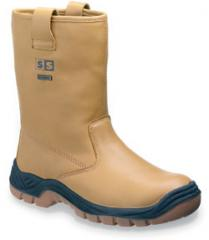 Sterling Tan Leather Water Proof Rigger Boot