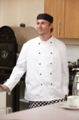 Lightweight Long Sleeved Chefs Jacket