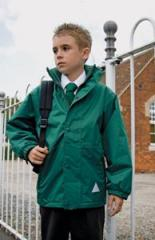 Kids Reversible Fleece Jacket