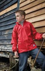 Childrens Windcheater In A Bag Jacket Junior