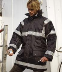 Result Workguard Management Coat