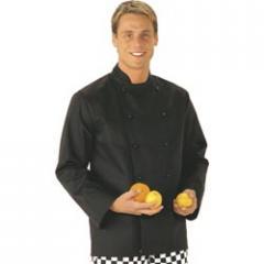 Portwest Somerset Black Chefs Jacket