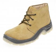 Honey Nubuck Safety Chukka Boot - S3